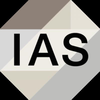 IAS logo (grey)