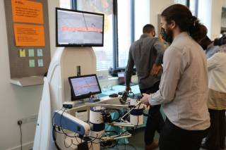 VR surgery robot