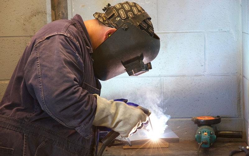 Apprentice welder