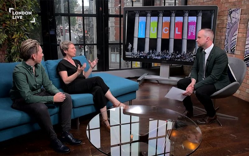 Carey Jewitt on London Live