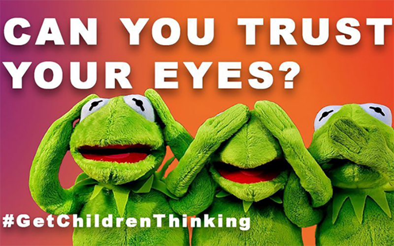 Can you trust your eyes? Get Children Thinking campaign from the Helen Hamlyn Centre for Pedagogy