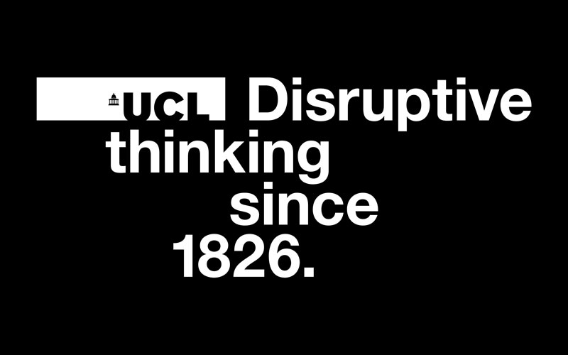 Made At UCL - Disruptive Thinking artwork