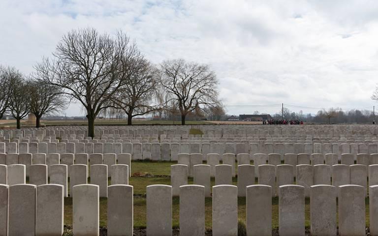 Lijssenthoek Military Cemetery: First World War Centenary Battlefield Tours Programme