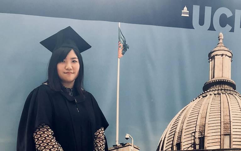 Aki Tsunemoto, TESOL MA alumna