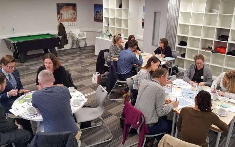 People in a workshop