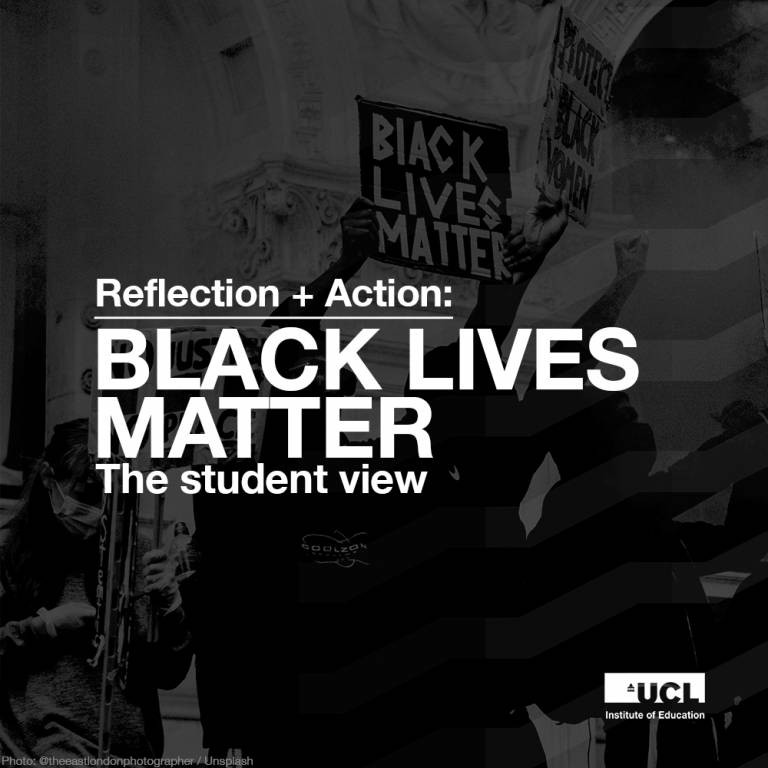 Black Lives Matter - the student view, Reflection + Action podcast