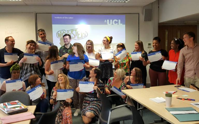 Participants completing the Future Zone Leadership Programme