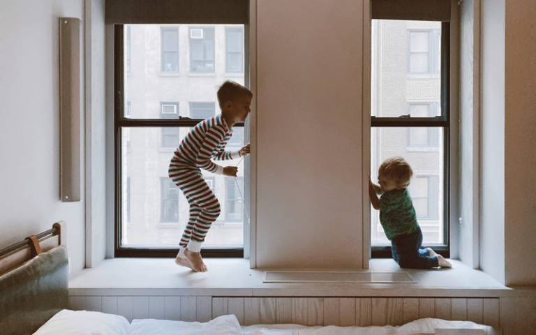 Children playing together at home. Image: Jessica West via Pexels