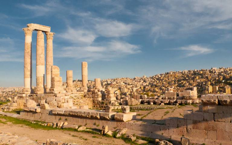 Citadel and Cityscape of Amman, Jordan. Image credit: hopeless128 via Flickr (CC BY-NC-ND 2.0)