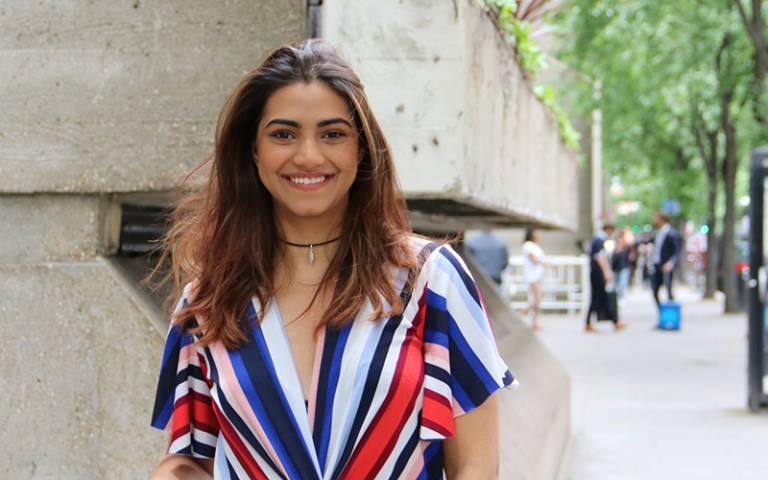 Dhanishtha Patel, Psychology of Education MSc student