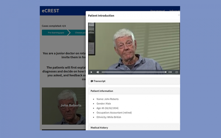 eCREST Patient Introduction