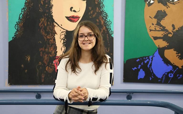 Social Sciences with Quantitative Methods BSc student Eleri Kirkpatrick-Lorente