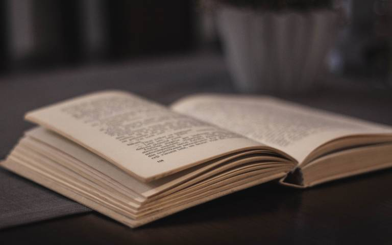 Turning pages of a book. Image: Pixabay via Pexels