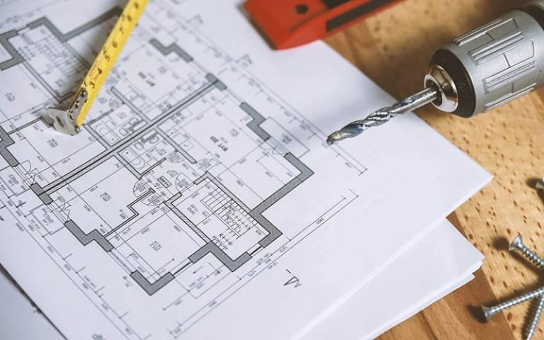 Building floor plan. Image: JESHOOTS.com via Pexels