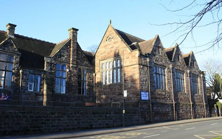 catholic school building