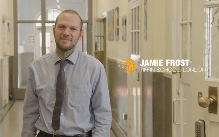 Dr Jamie Frost. Image: Courtesy of the Varkey Foundation
