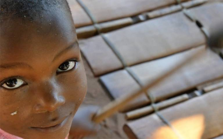 Girl in Mozambique, credit: Robbie Campbell