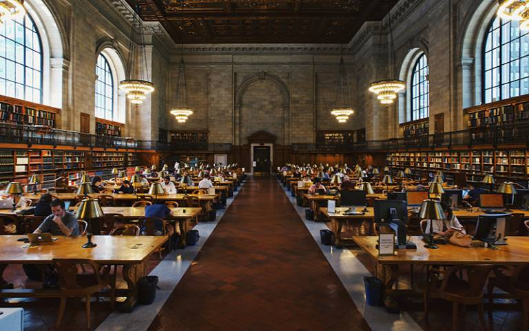 students studying in library. Image: Robert Bye via Unsplash