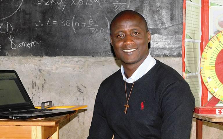 Peter Tabichi, winner of 2019 Global Teacher Prize