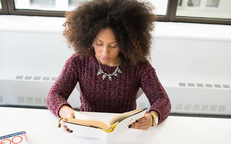 Woman reading a book. Image: Christina Morillo via Pexels