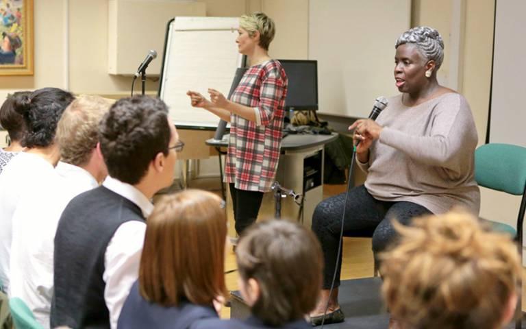 Gospel workshop with Karen Gibson