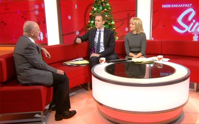 Graham Welch on BBC Breakfast