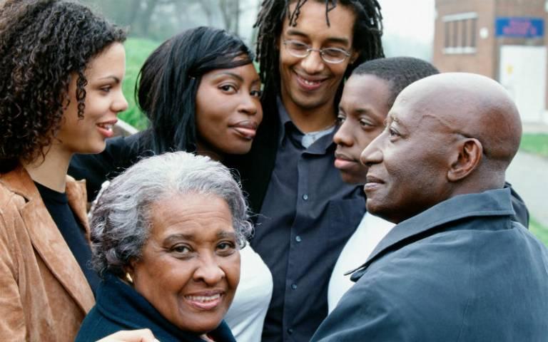 Happy family all generations
