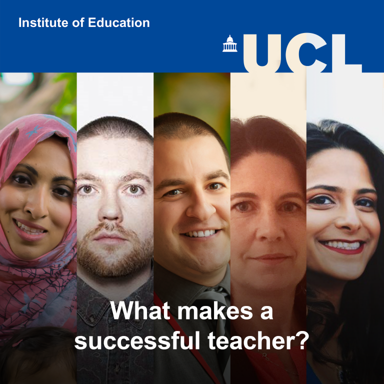 What makes a successful teacher? - artwork for IOE Podcast