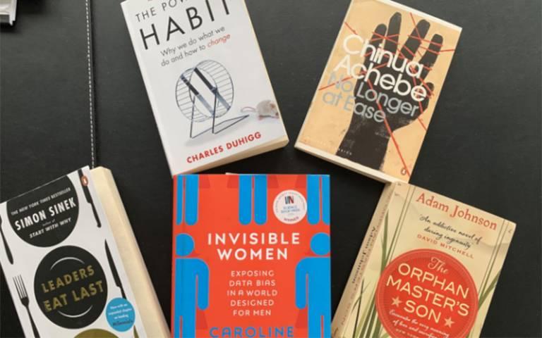 Books (Photo: Dr Zachary Walker)