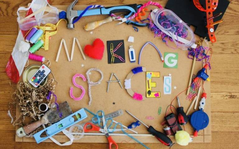 Making Spaces project. Image: courtesy of Louise Archer for UCL Institute of Education