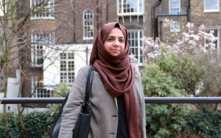 Najma Khan, trainee teacher