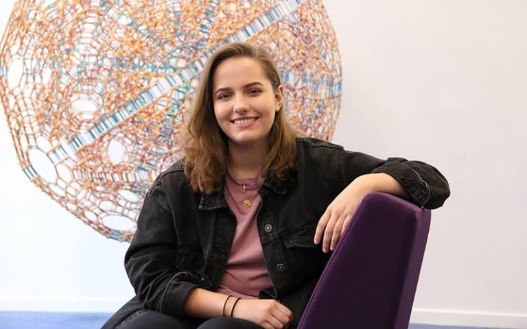 Social Sciences BSc student Nikita Glass