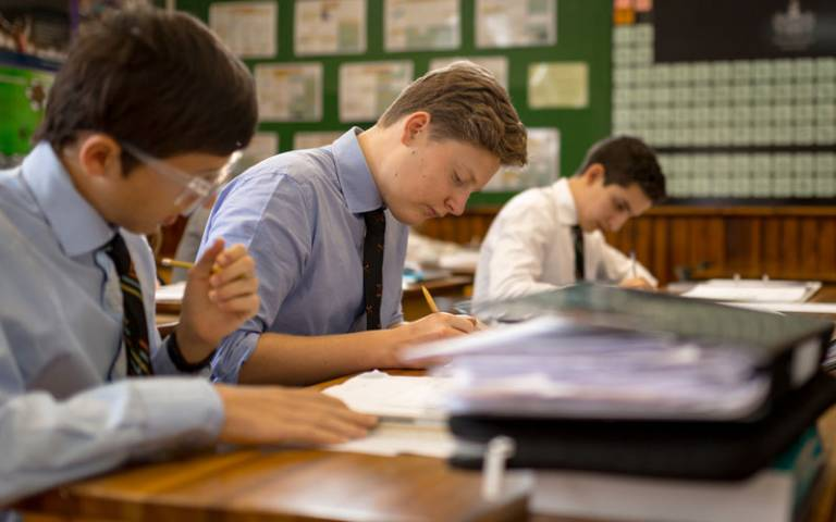 Pupils in class. Image: Wellington College via Flickr (CC BY-NC 2.0)