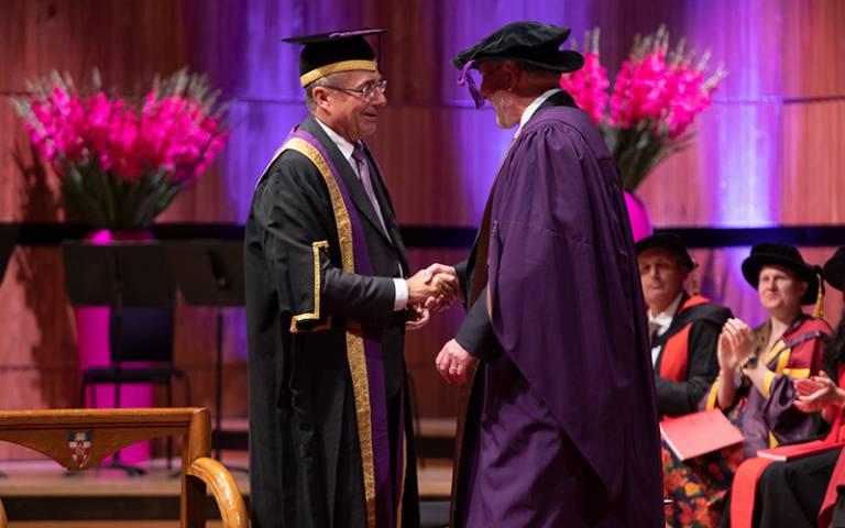 Professor Robert Putnam and Professor Michael Arthur