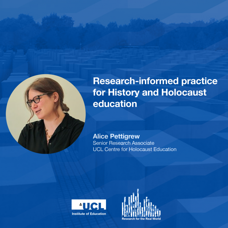 Dr Alice Pettigrew, Research for the Real World podcast