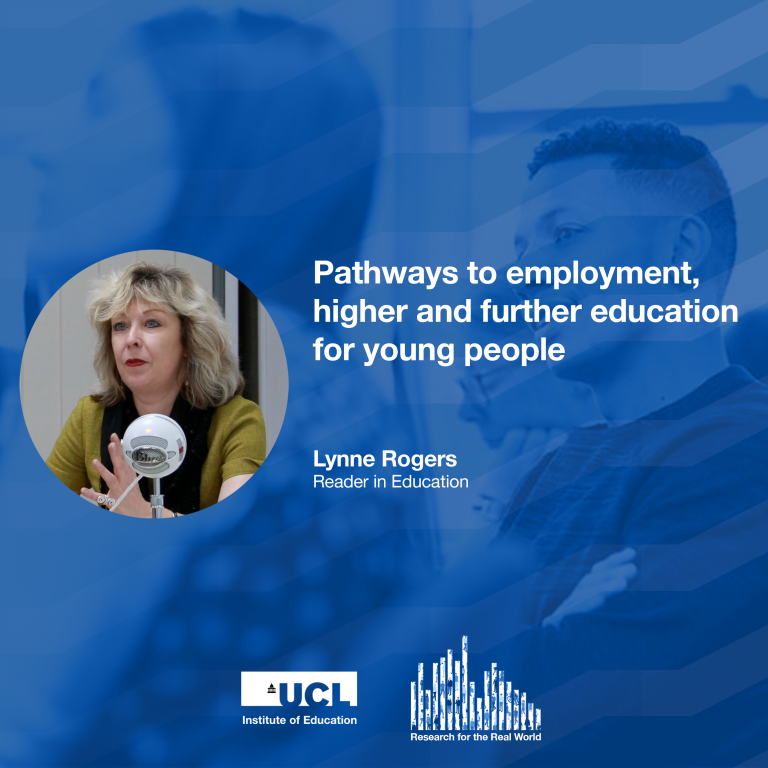Dr Lynne Rogers, Research for the Real World podcast
