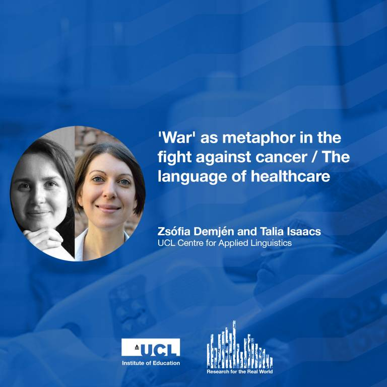Dr Zsofia Demjen and Dr Talia Isaacs, Research for the Real World podcast