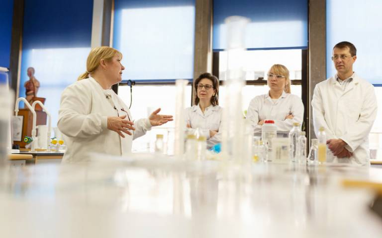 Science Technicians in Discussion