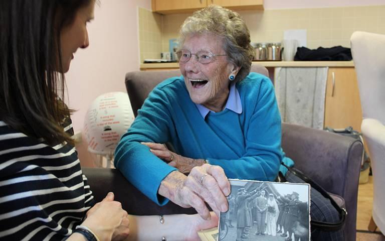 Senior citizens and memories