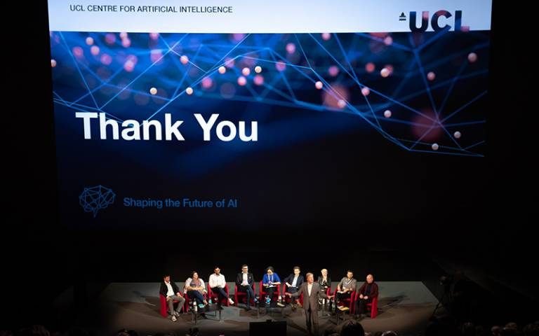 UCL Artificial Intelligence global strategy launch