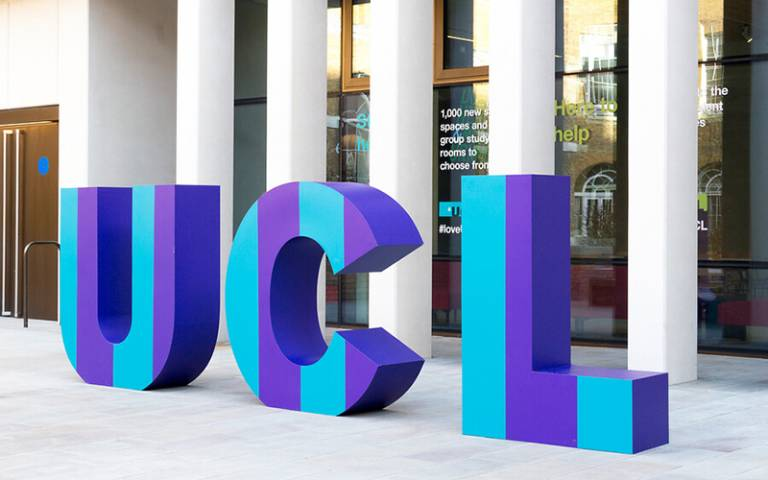 UCL in large letters