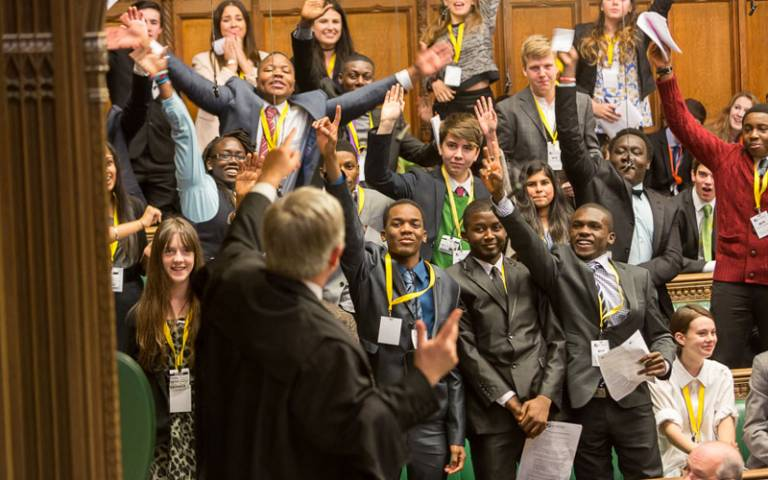 UK Youth Parliament, 15 November 2013. Image by UK Parliament via Flickr (CC BY-NC 2.0)
