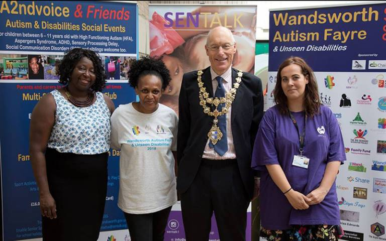Wandsworth Autism Fayre and Unseen Disabilities founders and Mayor for Wandsworth