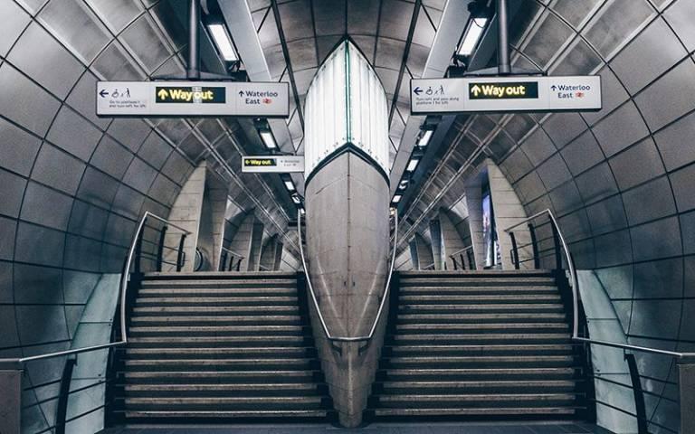 Exit, London Underground
