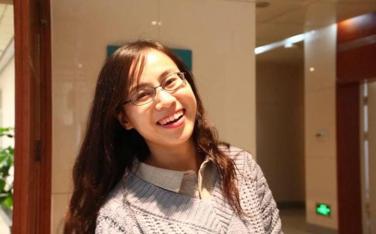 Applied Linguistics MA student Xuran Han