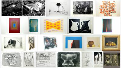 IOE Art Collection displayed on Flickr