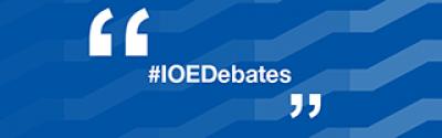 #IOEDebates