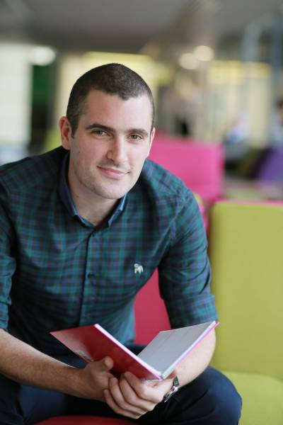 Primary PGCE student Michael Delaney