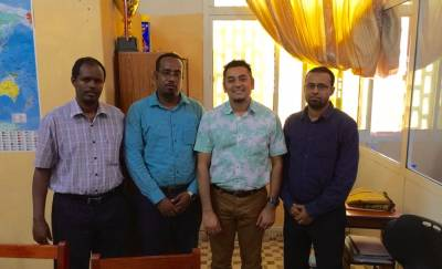 President and Vice-President of the University of Hargeisa