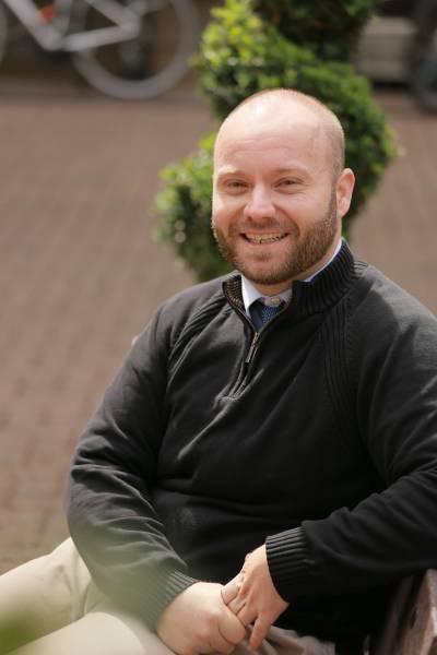 PhD in Curriculum, Pedagogy and Assessment student Zachery Spire